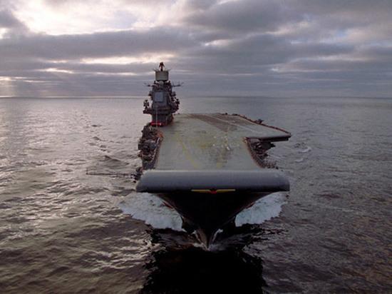 "На авианосце ""Адмирал Кузнецов"" произошел пожар"