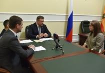 Губернатор Николай Любимов провел личный прием граждан