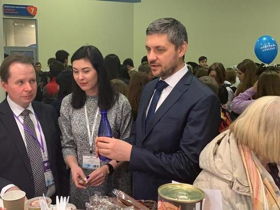 Осипов посетил открытие фестиваля «Дни Дальнего Востока» в Москве