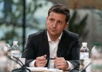 Зеленский дал интервью программе Владимира Соловьева