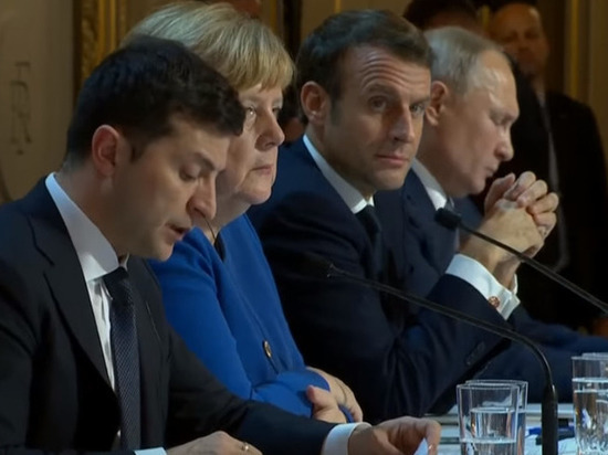 Зеленский подтвердил, что пожал руку Путину