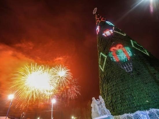 Световое шоу, игры и горки: красноярцев зовут на открытие главной елки