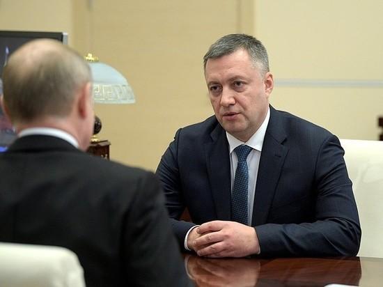 Нового главу Иркутской области сделали генерал-полковником