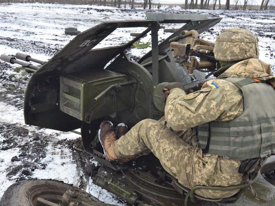 В Донбассе заявили о возвращении ВСУ на позиции