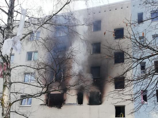 В Германии в жилом доме прогремел взрыв, 25 человек ранены