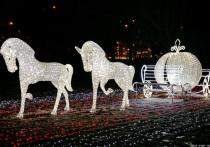 В Саяногорске смонтируют к Новому году парк световых фигур