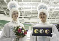 Красноярцам показали медали предстоящего чемпионата России по фигурному катанию
