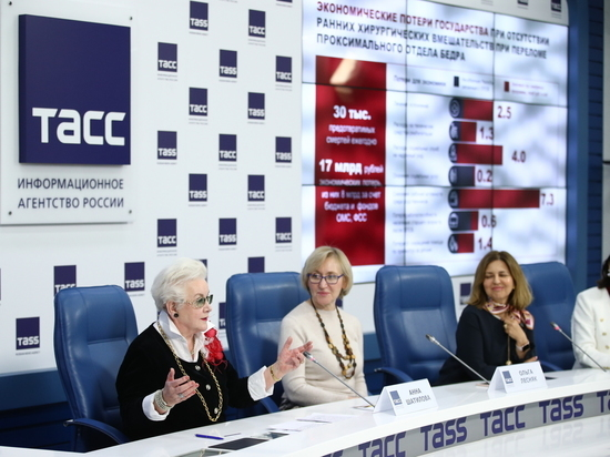 России грозит эпидемия переломов, вызванных остеопорозом