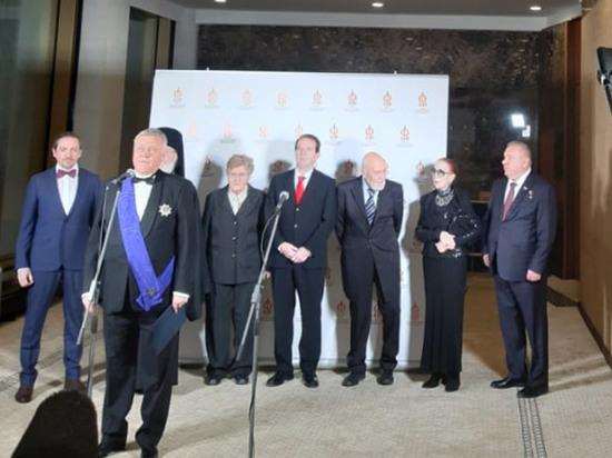 В Кремле наградили Дроздова, Чурикову, Шаманова