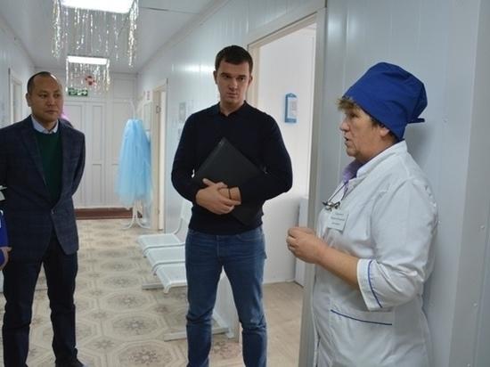 Представитель Аппарата правительства России посетил объекты здравоохранения Тувы