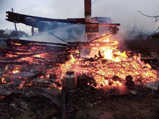 В Калужской области 87-летний мужчина сгорел в своей постели