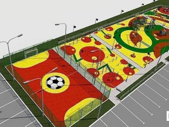 В Надыме в следующем году появятся пять новых детских площадок
