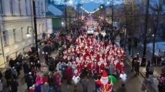 В Рыбинске прошел парад Дедов Морозов