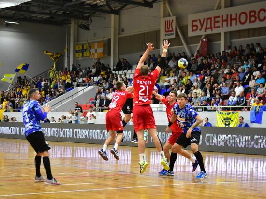 Ставропольские гандболисты в Астрахани побили рекорд по очкам