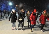 Каток на Советской площади в Ярославле открыт