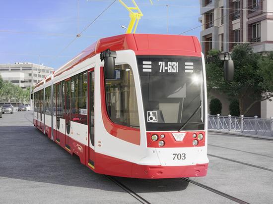 Власти Новокузнецка закупили новые современные трамваи