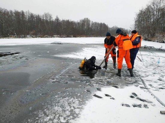 Тело женщины, провалившейся под лед на Тезе, обнаружено
