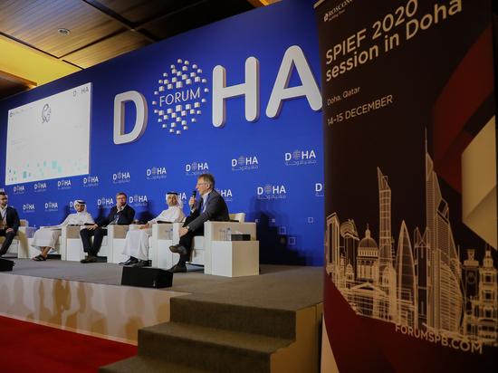 В Дохе состоялась совместная сессия ПМЭФ и Doha Forum, посвященная венчурным инвестициям