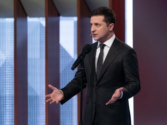 Интервью Зеленского российскому каналу вызвало гримасы его подчиненных