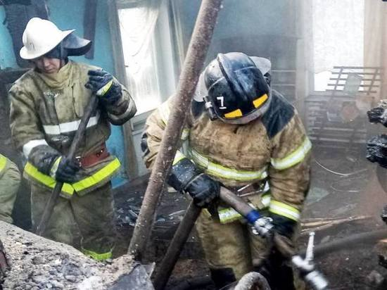 В одном из сел Тувы горело здание администрации