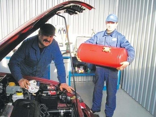 В регионе планируют перевести на газ 100 тысяч автомобилей