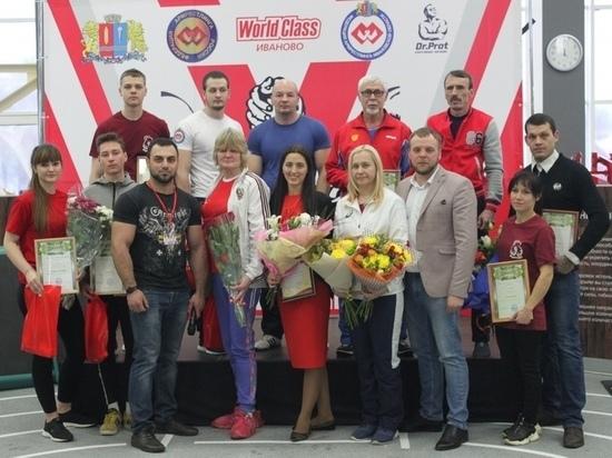 В Ивановской области состоялся региональный чемпионат и первенство по армрестлингу