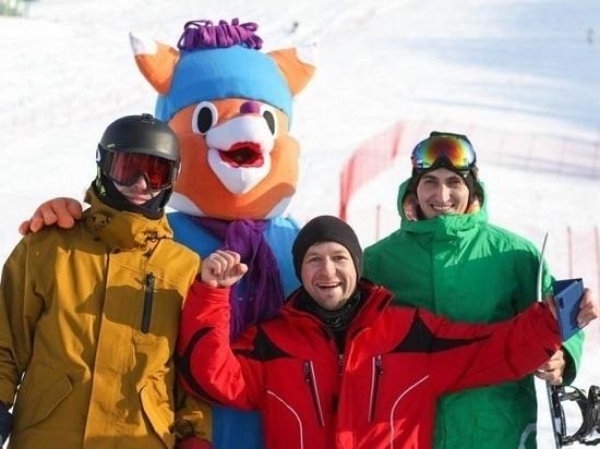 На «Горном воздухе» стартовал горнолыжный фестиваль