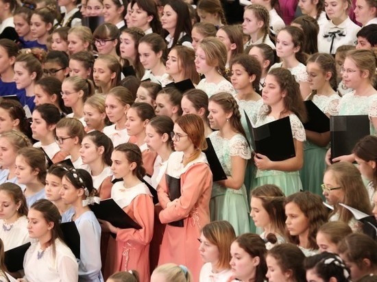 Дети из ЯНАО споют в тысячном Хоре России в московском Кремле