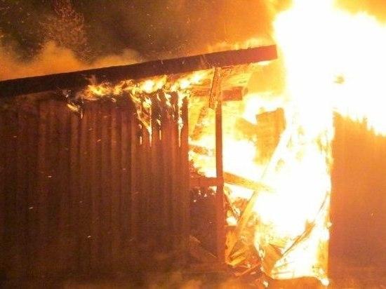 В Иванове мужчина, который думал, что за ним следят, сжег дом, в котором проживал