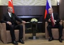 В Кремле рассказали о разговоре Путина и Эрдогана