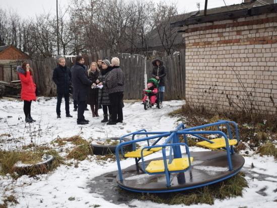 Судьбу одной из детских площадок Иванова решил мэр