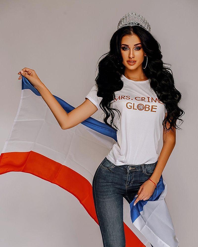 Крымчанку признали одной из самых красивых женщин мира