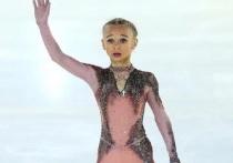 """Воспитанница школы на """"Хрустальном"""" первой в мире выполнила четверной на соревнованиях в таком возрасте"""