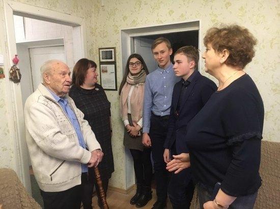 В Иванове поздравили 95-летнего ветерана