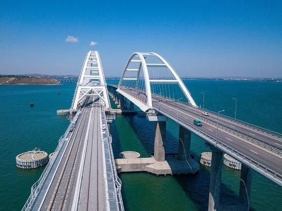 Железнодорожная часть Крымского моста объявлена достроенной