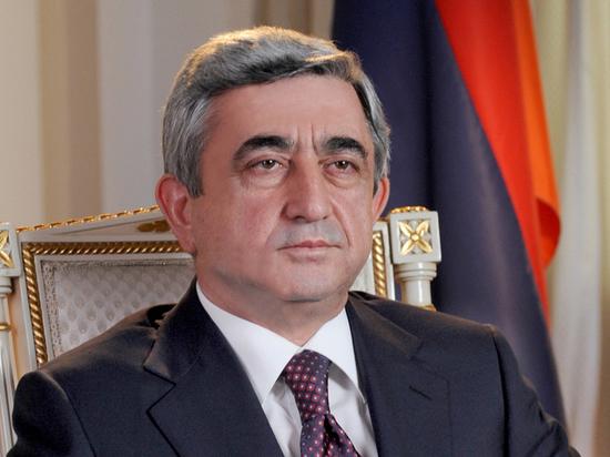 В Армении наложили арест на имущество экс-президента Саргсяна