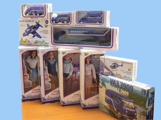 В почтовых отделениях Бурятии появилась собственная линейка кукол