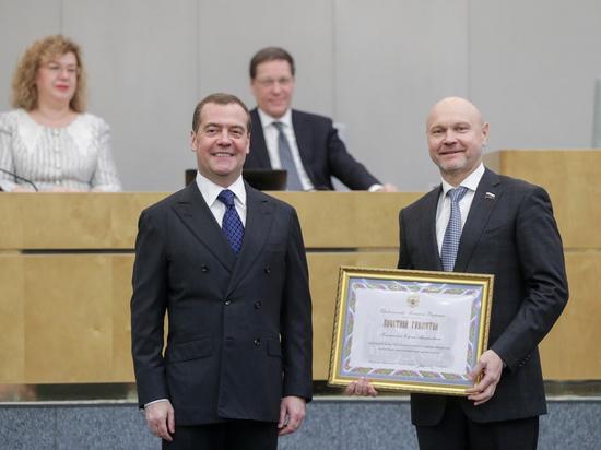 Премьер-министр РФ наградил депутата от Оренбуржья