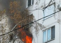 Двух маленьких детей чудом удалось спасти от смерти во время пожара в подмосковном Красногорске