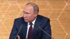 Путин с интересной мимикой сказал про отмену двух сроков подряд