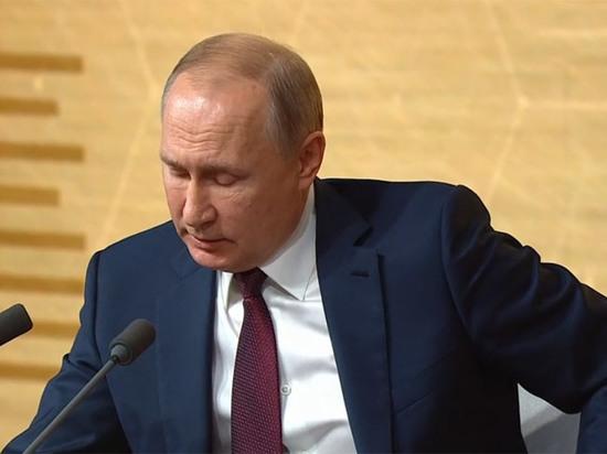 «Путин устал и уходит?»: пресс-конференция президента за одну минуту