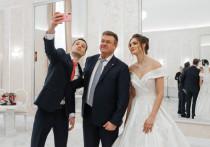 Любимов поздравил рязанцев с открытием Дворца торжеств