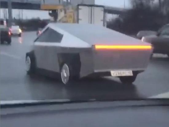 В Подмосковье из «Жигулей» собрали новую Tesla Cybertruck