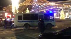 Теракт на Лубянке: видео оцеплений в центре Москвы