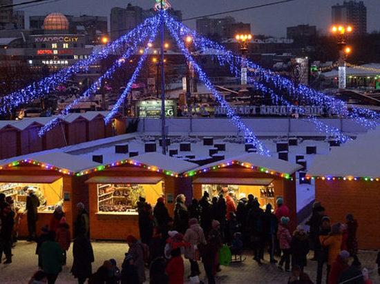 В ближайшие выходные в Иванове начнет работу «Новогодний городок»