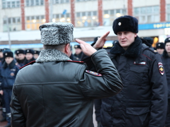 Перед новогодними праздниками в Иванове прошел смотр сил правопорядка