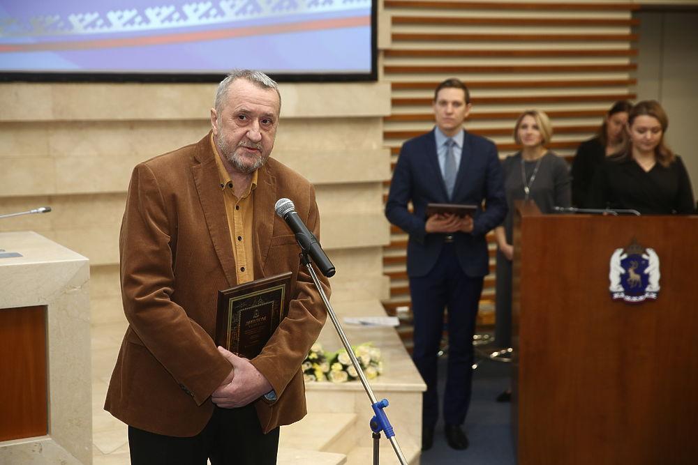 В ЯНАО наградили лауреатов литературной премии: фоторепортаж