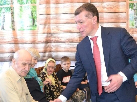 Максим Топилин ознакомился с внедрением в Рязанской области системы долговременного ухода. Фото