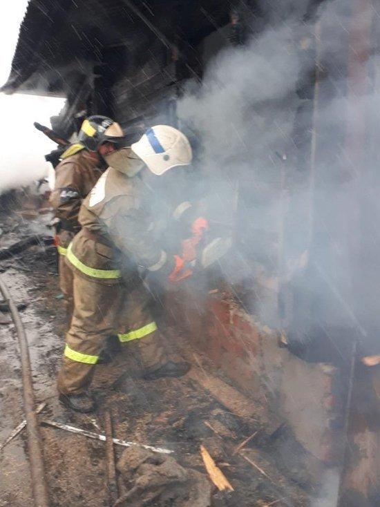 Пожар в Юрьевце унес жизнь 55-летнего мужчины