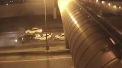 Семью, попавшую в мелкое ДТП, сбила насмерть другая машина: видео